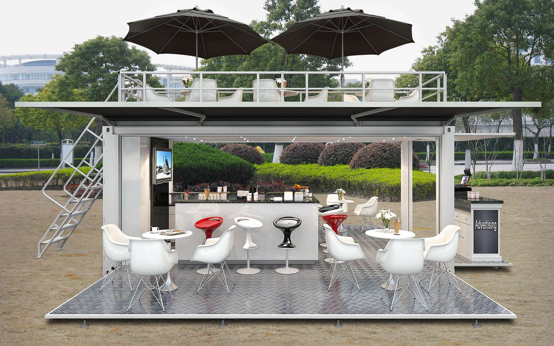 Bar Mobile en Container - Home Container