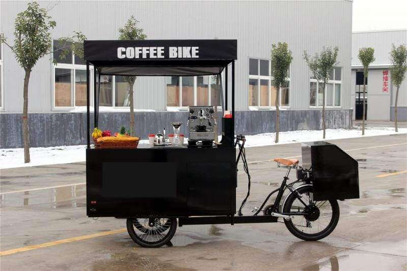 Coffee Bike Food JX-T07 - Mini Shop - Home Container