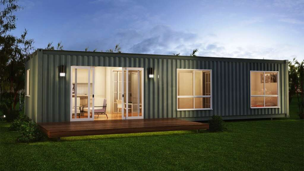 Maison container une maison design en kit modulable et for Maison container maritime