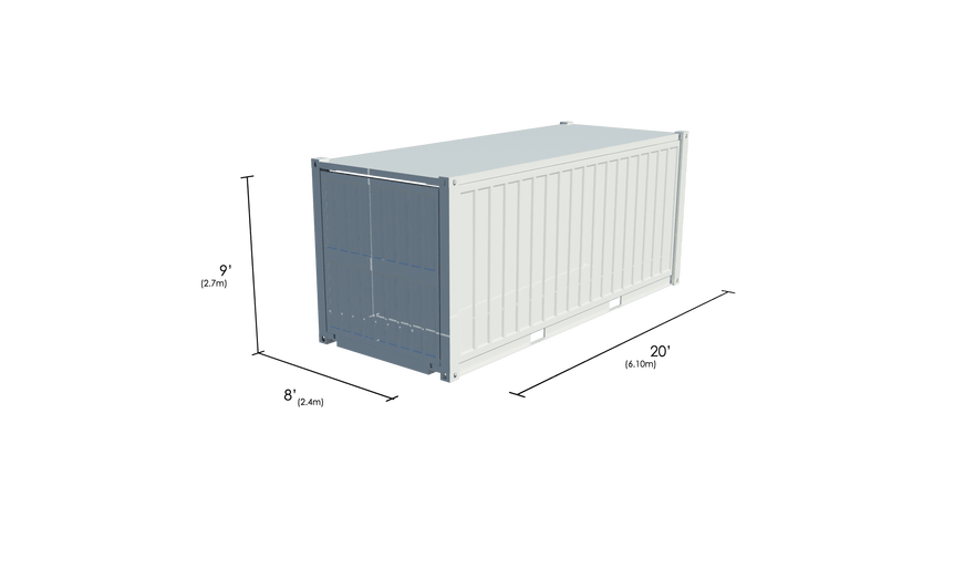 Container commerce 20ft
