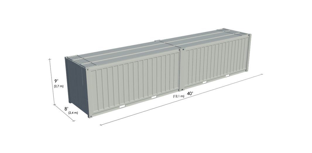 Container commerce 40ft