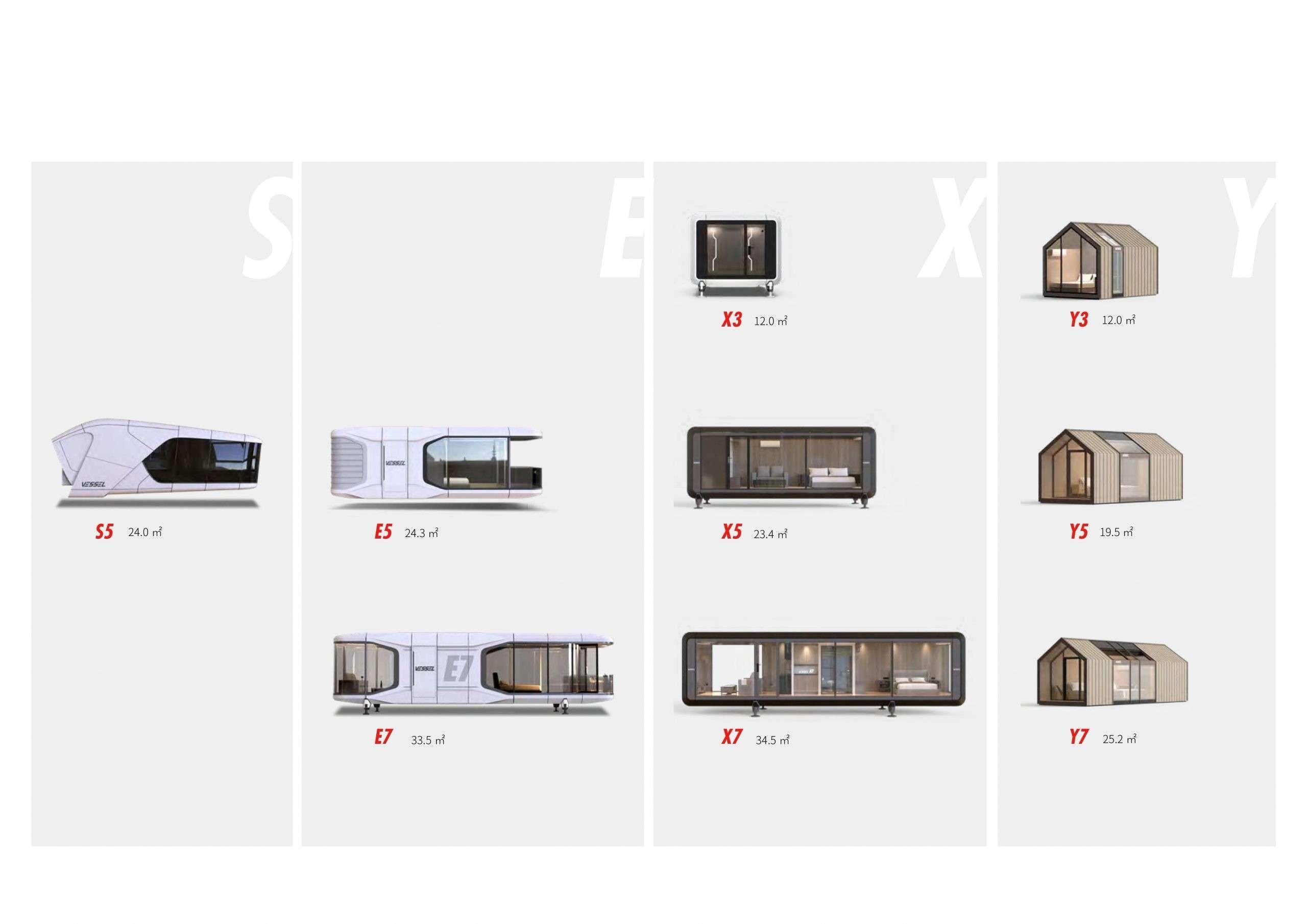 modèles maisons design