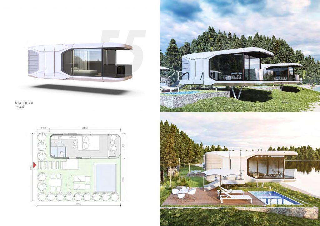 Studio de jardin habitable prix  E5