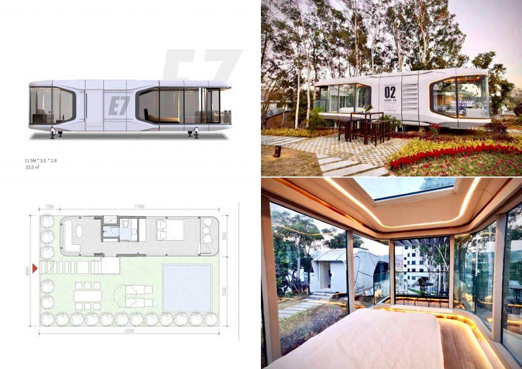 Studio de jardin habitable prix  E7