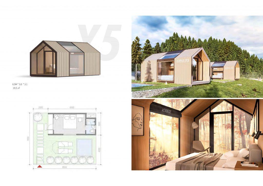 Maison préfabriquée série Y5