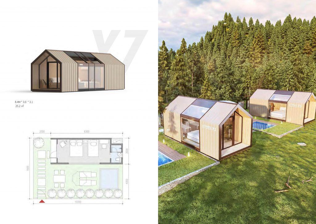Maison préfabriquée série Y7